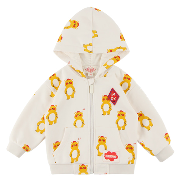 Multi bear baby hood zip up jacket  NEW FALL