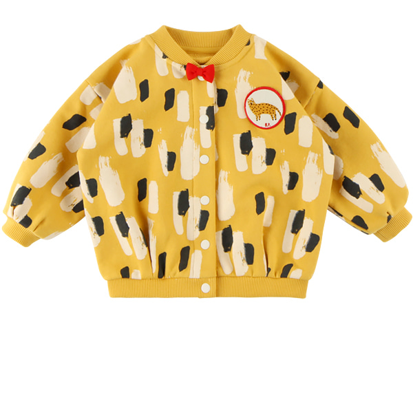 Yellow camo baby volume sweat jacket  NEW FALL