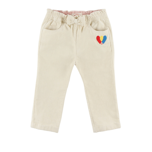 Heart baby ribbon woven pants  NEW FALL