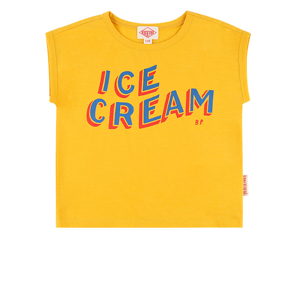 Ice cream drop shoulder tee  30% sale