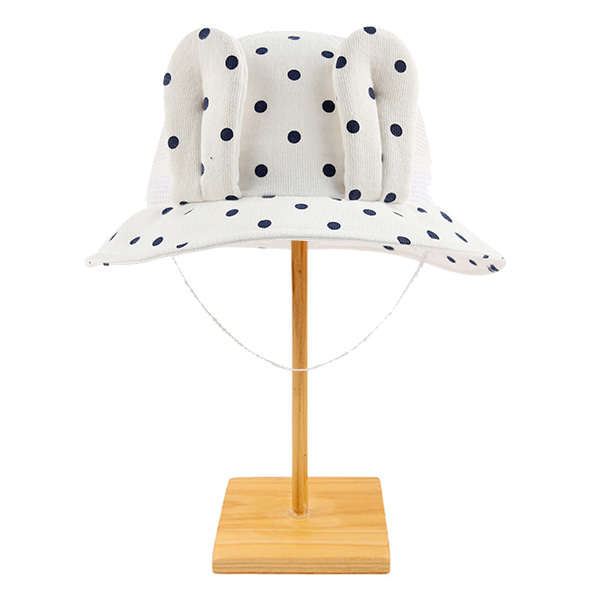 Baby polka dot bunny bucket hat  NEW SUMMER