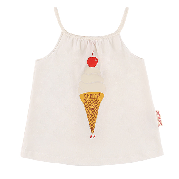 Ice cream cropped tank top  30% sale