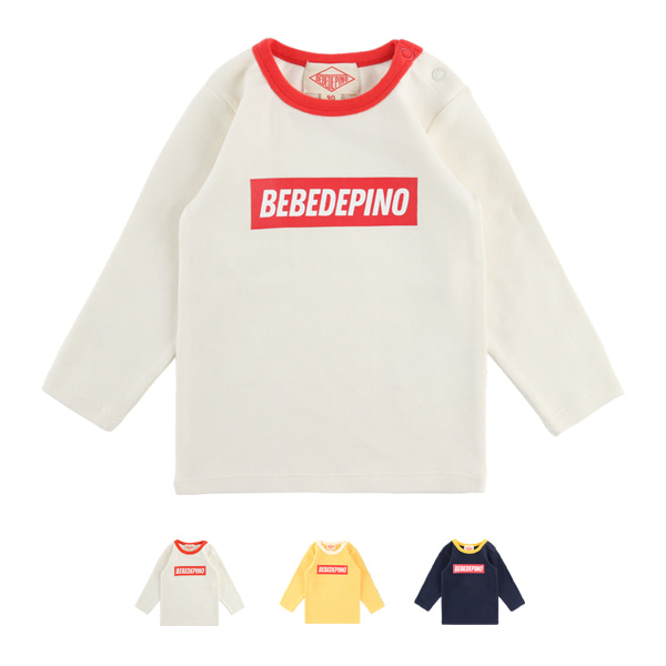 Basic baby colorblock long sleeve tee  NEW FALL