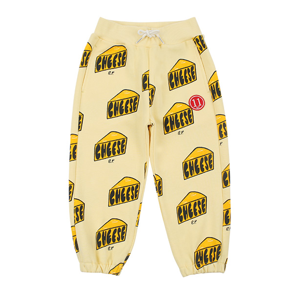 Multi cheese sweat pants  NEW SPRING
