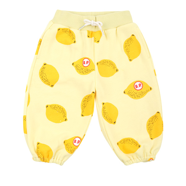 Multi lemon baby harem jersey pants  NEW SPRING