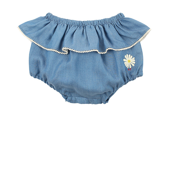 Daisy baby lace tencel bloomer