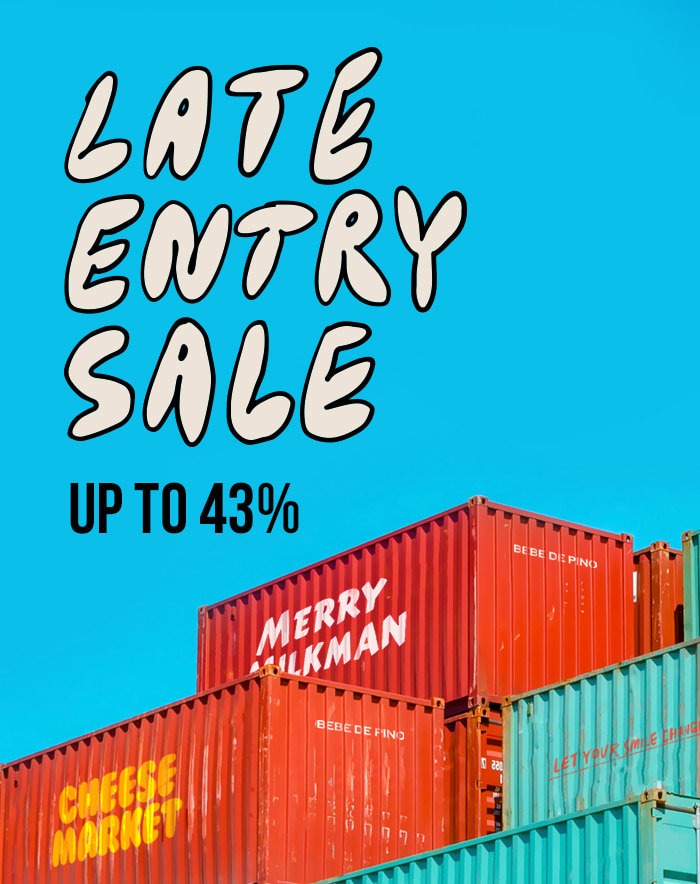 LATE ENTRY SALE[2020.04.09  ~ 04.19]