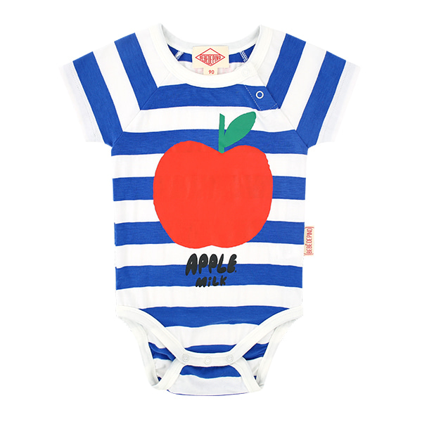 Apple milk baby raglan short sleeve bodysuit  NEW SUMMER
