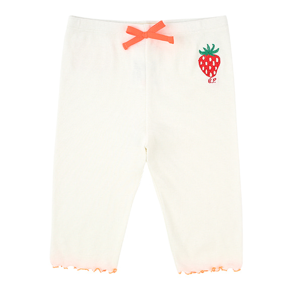 Strawberry baby over knee length leggings  NEW SUMMER