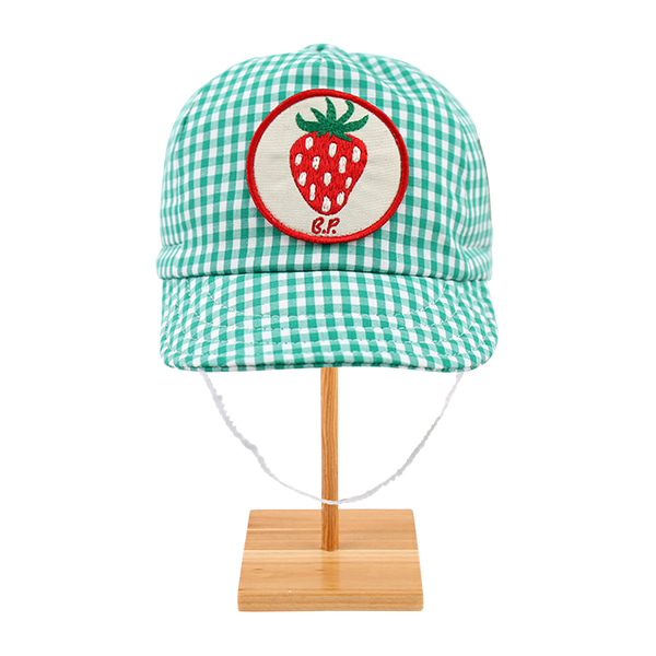 Strawberry baby gingham check cycling cap  NEW SUMMER