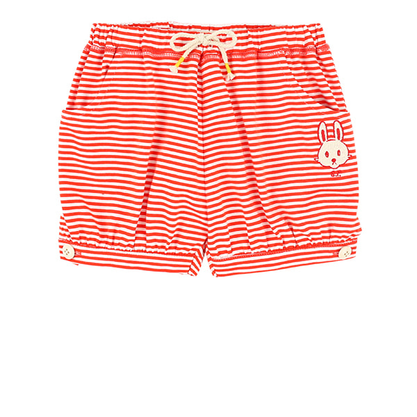 Bunny baby stripe jersey short pants  NEW SUMMER