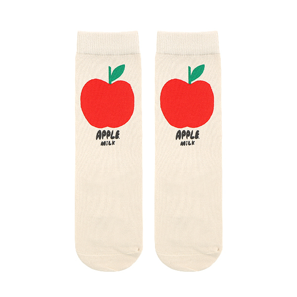 Apple milk knee socks  NEW SUMMER