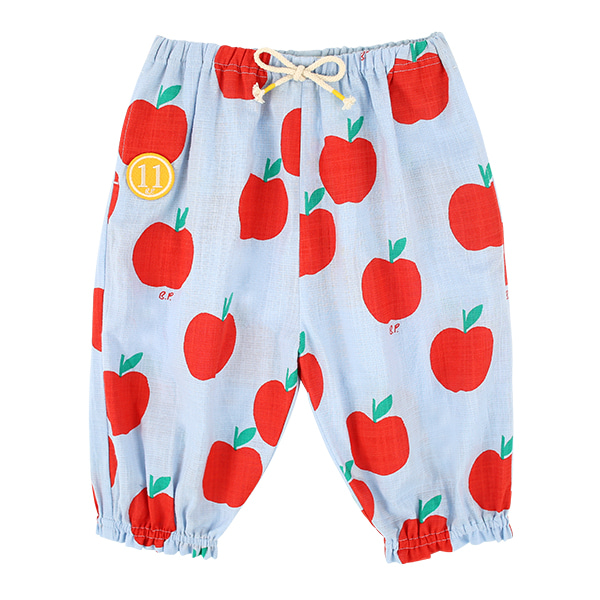 All over apple baby woven pants  NEW SUMMER