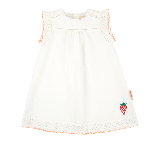 Strawberry baby cotton lace dress  NEW SUMMER