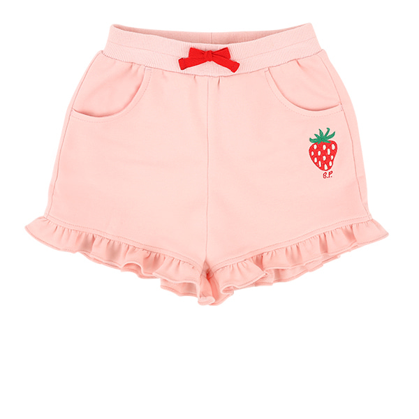 Strawberry baby ruffle shorts  NEW SUMMER