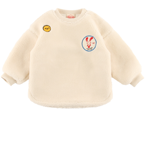 Jannet baby dumble fur sweatshirt