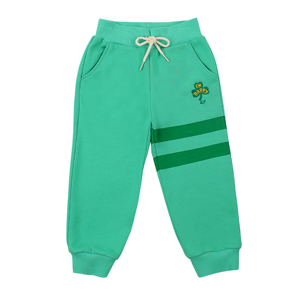 Clover embroidery sweat pants  NEW SPRING